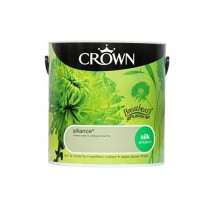 Crown Breathe Easy Emulsion Paint 2.5L Alliance (Silk)