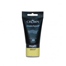 Crown Emulsion Paint Tester Pot 40ml Alliance (Matt)
