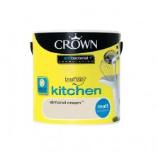 Crown Kitchen Paint 2.5L Almond Cream (Matt)