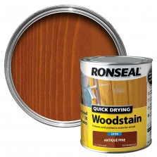 Ronseal Quick Drying Wood Stain 750ml Antique Pine Satin