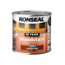 Ronseal 10 Year Woodstain Antique Pine Satin 750ml