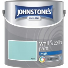 Johnstones Vinyl Emulsion Paint 2.5L Aqua Matt