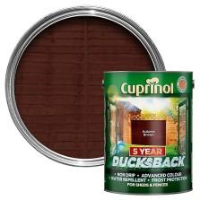 Cuprinol 5 Year Ducksback 5L Autumn Brown