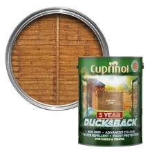 Cuprinol 5 Year Ducksback 5L Autumn Gold