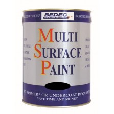 Bedec Multi Surface Paint 750ml Regency White Matt