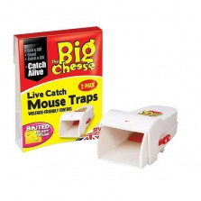 The Big Cheese Live Catch Mouse Trap STV155
