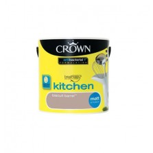Crown Kitchen Paint 2.5L Biscuit Barrel (Matt)