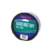 Supadec Black Duct Tape 48mm x 50m
