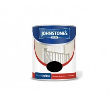 Johnstones Liquid Gloss Paint 750ml Black