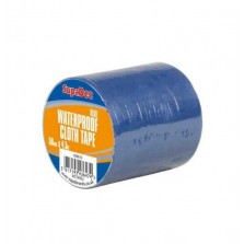 Supadec Waterproof Cloth Tape 48mm x 4.5m Blue