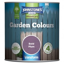 Johnstones Garden Colours Paint 1L Bold Plum