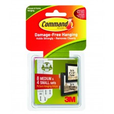 Command Picture Hanging Strips Combi Pack
