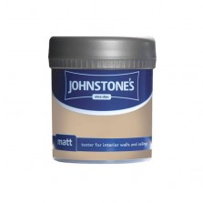 Johnstones Vinyl Emulsion Tester Pot 75ml Brandy Cream (Matt)