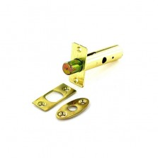 Securit S1062 Brass Security Door Bolt 60mm