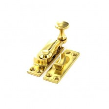 Securit S2585 Brass Sash Fastener Arm Type 65mm