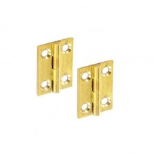 Securit S4205 Brass Butt Hinges 75mm (Pair)