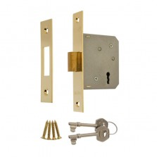 Era 3 Lever Brass Effect Deadlock 3""
