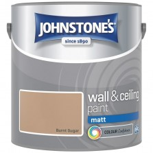Johnstones Vinyl Emulsion Paint 2.5L Burnt Sugar Matt