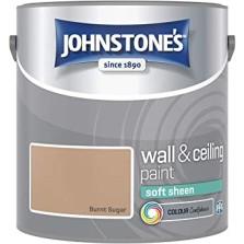 Johnstones Vinyl Emulsion Paint 2.5L Burnt Sugar Soft Sheen