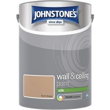 Johnstones Vinyl Emulsion Paint 5L Burnt Sugar (Silk)