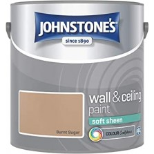 Johnstones Vinyl Emulsion Paint 5L Burnt Sugar (Soft Sheen)