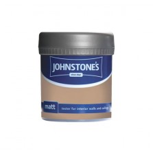 Johnstones Vinyl Emulsion Tester Pot 75ml Burnt Sugar (Matt)