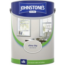 Johnstones Vinyl Emulsion Paint 5L China Clay Silk