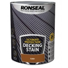 Ronseal Ultimate Protection Decking Stain 2.5L Cedar