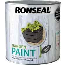 Ronseal Garden Paint 250ml Charcoal Grey