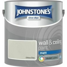 Johnstones Vinyl Emulsion Paint 2.5L China Clay (Matt)