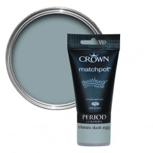 Crown Period Colours Emulsion Paint Tester Pot 40ml Classic Duck Egg (Matt)