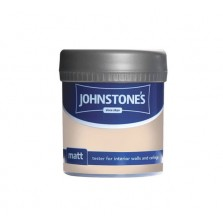 Johnstones Vinyl Emulsion Tester Pot 75ml Classic Cream (Matt)