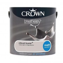 Crown Emulsion Paint 2.5L Cloud Burst Matt