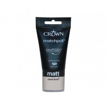 Crown Emulsion Paint Tester Pot 40ml Cloud Burst (Matt)