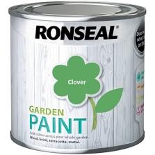 Ronseal Garden Paint 750ml Clover