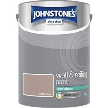 Johnstones Vinyl Emulsion Paint 5L Coffee Cream (Soft Sheen)