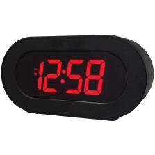 Acctim Colorado LED Alarm Clock With 2 USB Ports