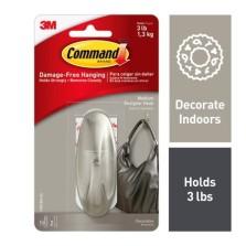 Command 3M Medium Designer Hook 17081BNUKN