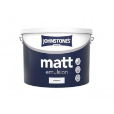 Johnstones Vinyl Emulsion Paint 10L Magnolia (Matt)