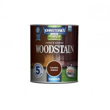 Johnstones Indoor & Outdoor Wood Stain 750ml Country Walnut