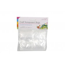 Craft Transparent Clip Bags