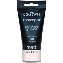 Crown Tester Pot 40ml Creme De La Rose Matt