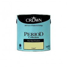 Crown Period Colours Emulsion Paint 2.5L Croquet (Matt)