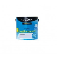 Crown Bathroom Paint 2.5L Platinum (Mid-sheen)