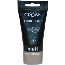 Crown Tester Pot 40ml Crushed Chocolate Matt