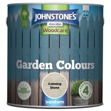 Johnstones Garden Colours Paint 2.5L Calming Stone