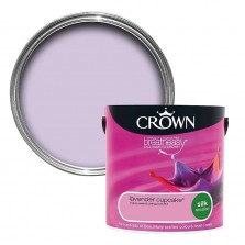 Crown Emulsion Paint 2.5L Lavender Cupcake Silk