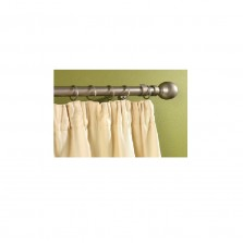 Supadec Silver Metal Extending Curtain Pole 180-300cm
