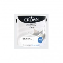 Crown Emulsion Paint 2.5L Clay White Matt