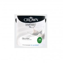 Crown Emulsion Paint 2.5L Clay White Silk